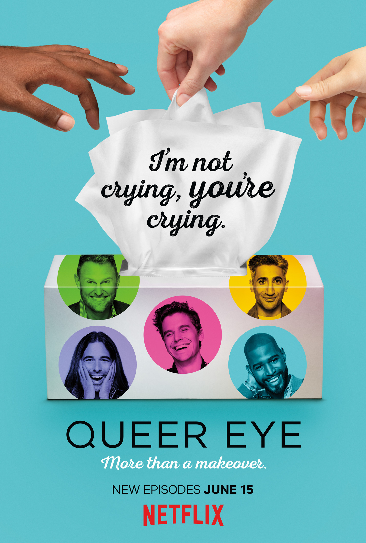najlepszy poprawiacz nastroju na netflixie, queer eye